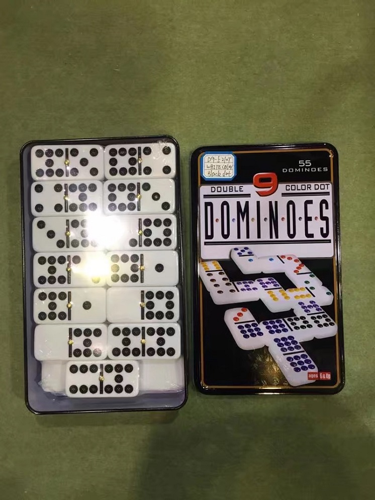 Double Nine Dominoes Set