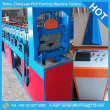 roof ridge cap roll former /china ridge cap factory,roof tile ridge cap machine,metal roof ridge cap roll forming machine