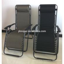 Cadeira de praia reclinável dobrável