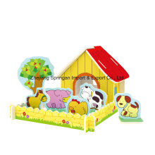 Wood Collectibles Toy for DIY Houses-Pastoral Farms