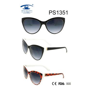 Gafas de sol de la PC del estilo del ojo de gato (ps1351)