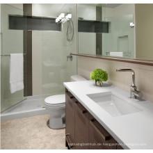 KKR Quarz Küchenarbeitsplatte, einteilige Spüle und Arbeitsplatte