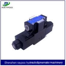 DSG-01-3C5 Válvula solenóide de 24 volts para máquina de moldagem por injeção vertical