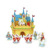 Holz Collectibles Spielzeug für DIY Häuser-Prinzessin Schloss