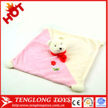 HOT! New designed lovely soft animal handkerchief