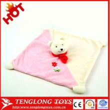 HOT! New designed lovely soft animal handkerchief
