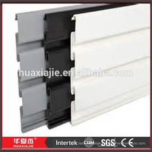 Customized Color Design Pvc Link Plate / Plastic Slatwall