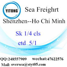 Shenzhen Port LCL Consolidation To Ho Chi Minh