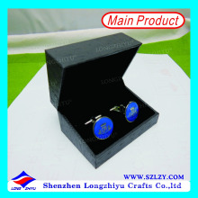 Wholesale custom popular metal logo cufflinks with box