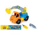 En71 aprobación inteligente Plastci Cartoon DIY coche juguete Mini Toy Car (10225713)