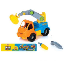 En71 Approval Intelligent Plastci Cartoon DIY Car Toy Mini Toy Car (10225713)