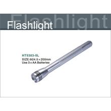 dark grey color  aluminum led flashlight