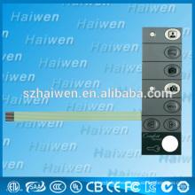 Interruptor de membrana PET de alta calidad para teléfono visual
