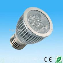 El fabricante de la alta calidad del LED 220v 100-240v 5w dmx rgb e27 llevó la luz del punto 5w