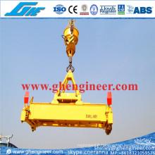 40t Éplaste hydraulique télescopique hydraulique pour conteneurs