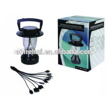 solar led lantern with step-up transformer, solar potable lantern for camping