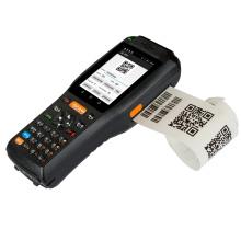 Промышленный портативный сканер штрих-кода КПК с принтером