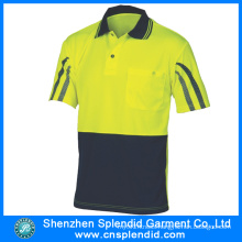 China Wholesale Dri Fit Polo Shirts with Reflective Stripe