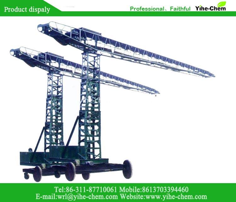 Telescopic conveyor belts for industry
