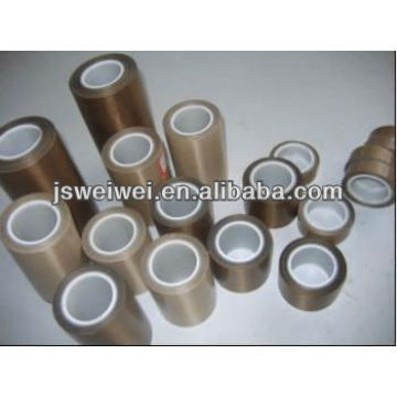 heat resistant Adhesive Teflon coated Tapes with release liner