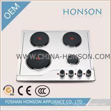 Fournisseur de Chine Plaque électrique en acier inoxydable