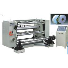 Вертикальная автоматическая машина для продольной резки и перемотки (серия LFQ-B)
