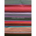 Полосы белый красный черный синий зеленый печать ткань для спортивной одежды (HD1401115)