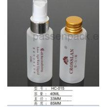 Bereifte Haustier-Plastikflasche 150ml für Hautpflege-flüssige Verpackung