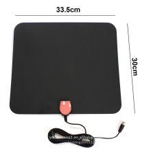 antena digital de interior atsc / dmb / dvb-t / isdb-t tv digital de interior 60-80 millas