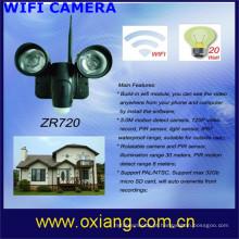 Venda quente escondido câmera de longa data de gravação sem fio da câmera de vídeo wi-fi / 3g câmera de vídeo livre