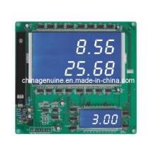 Zcheng 2 In1 Verkauf Liter Display Board Bildschirm (blauer Hintergrund)