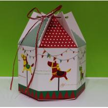 Sweet gift paper box with angle
