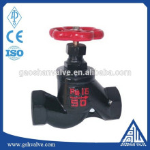 cast iron threaded lift globe valve