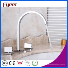 Mode 3 PCS Set robinets de mélangeur de salle de bains robinet de bassin répandu