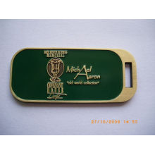2012 High - Quality Stainless Iron / Aluminum Customized Rubber Luggage Tags