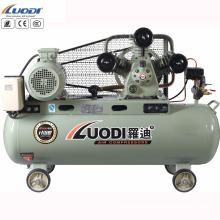 compresor de aire accionado por correa 3 cilindros de potencia AC 3 fases