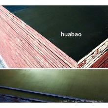 Contreplaqué de construction 18mm avec noyau de peuplier brun (HBC022)