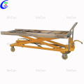 Funeral Morgue Transport Equipment Body Hand Trolley