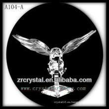 Bonita estatuilla de animales de cristal A104-A