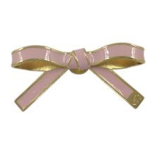 Broches décoratives de Bowknot en métal de dames de mode