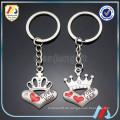 Herzform Schlüsselbund, Metall Paar Liebe Schlüsselbund