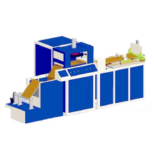 Automatic high frequency PVC card holder machine