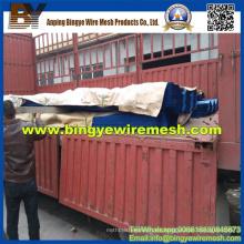 Metal perforado recubierto de PVC para valla de viento / polvo