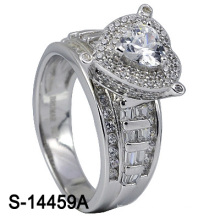 New Arrival 925 Silver Jewelry Micro Setting Ring