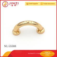 Мини-арочный мост светло-золотой сплав цинка металлический декор для сумки