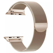 Color loop for smart watch series 3 4 5 6 band  designer metal strap for luxury smart watch band case 38mm 40mm 42mm 44mm