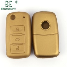 Хорошее качество VW Skoda Silicone Car Key Cover