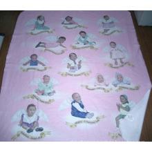 Custom 100% Polyester Fleece Blanket with Transfer Printing