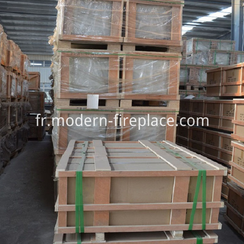 Factory Wood Burner Insert Packaging