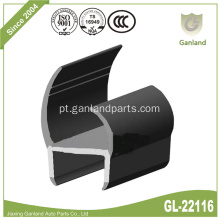 Gaxeta De Borracha Da Porta Do Recipiente EPDM PVC H Seal